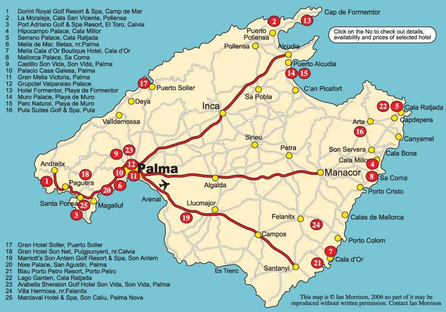 Mallorca Majorca 5 star hotels
